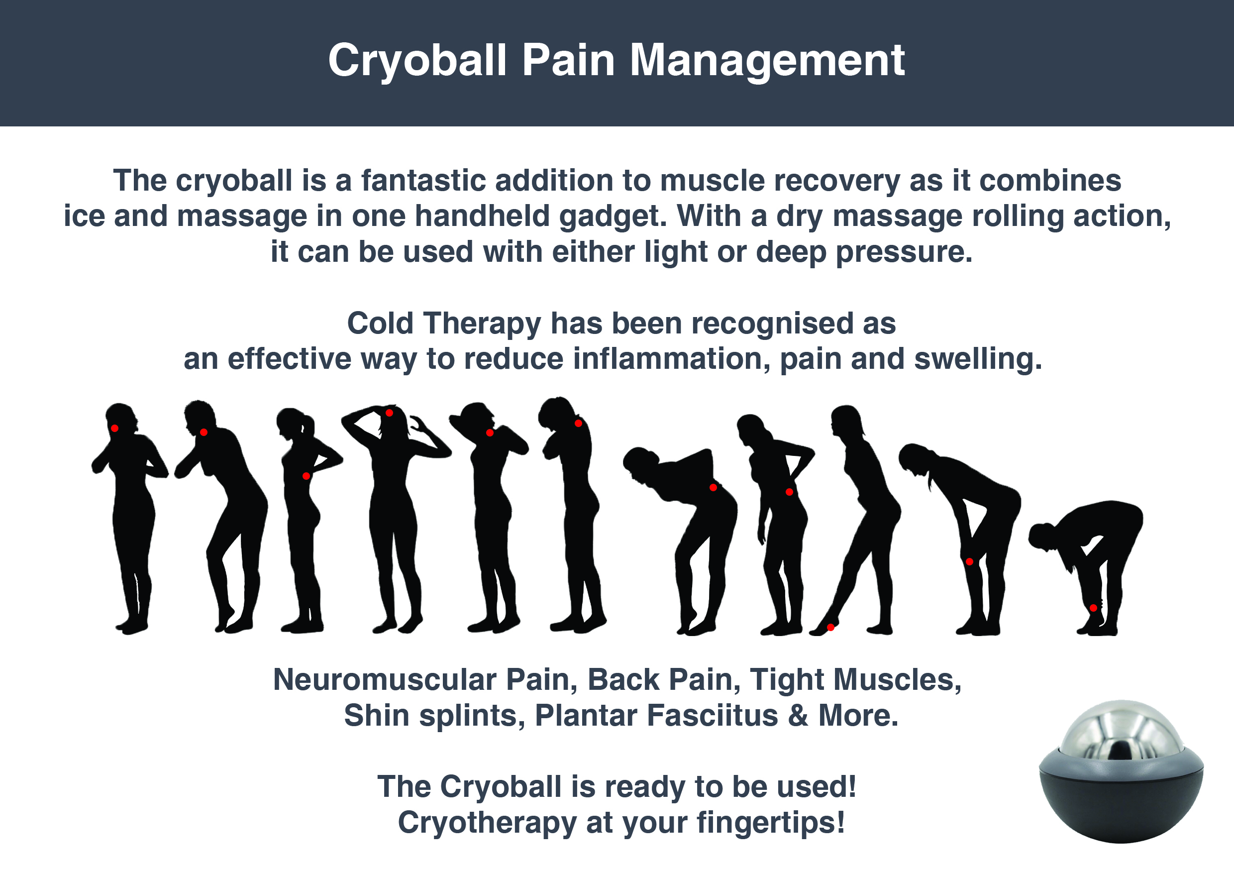 Cryo ball Pain Management